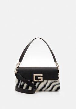 Guess - BRIGHTSIDE SHOULDER BAG - Handtasche - zebra