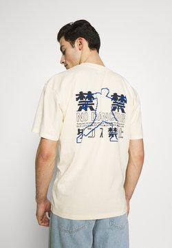 Edwin - NO DANCING  - Print T-shirt - vanilla