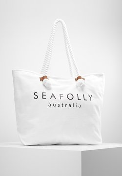 Seafolly - SHIP SAIL TOTE - Beach accessory - white