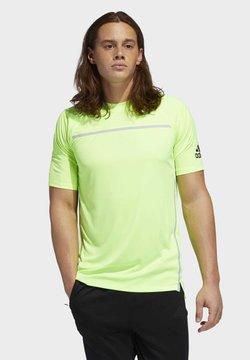 adidas Performance - PRIMEBLUE T-SHIRT - Camiseta estampada - green
