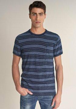 Salsa - PALM BEACH  - T-Shirt print - blau