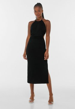 Bershka - WITH CUT-OUT AND OPEN BACK  - Cocktailkleid/festliches Kleid - black