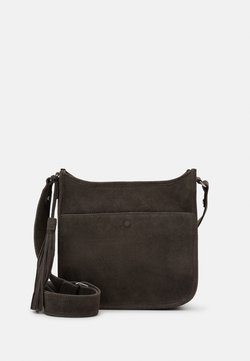Zign - LEATHER - Torba na ramię - 8anthracite