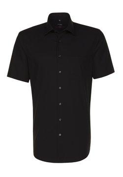 Seidensticker - REGULAR FIT - Hemd - black