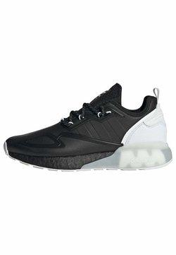 adidas Originals - ZX 2K BOOST SHOES - Sneaker low - cblack/cblack/ftwwht