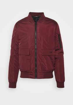 274 - BASEBALL JACKET - Giubbotto Bomber - burgundy