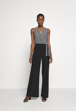 Lauren Ralph Lauren - CLASSIC JUMPSUIT - Combinaison - black/colonial