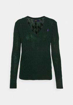 Polo Ralph Lauren - KIMBERLY CLASSIC LONG SLEEVE - Sweter - hunter green