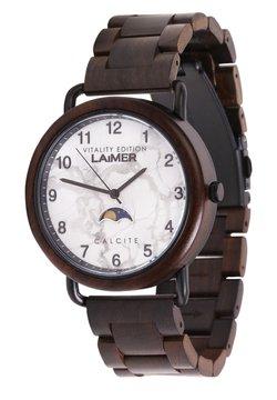 LAIMER - LAIMER QUARZ HOLZUHR - ANALOGE ARMBANDUHR GOTTFRIED - Uhr - brown