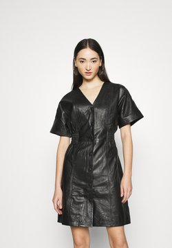 YAS - YASSIRI DRESS - Robe d'été - black