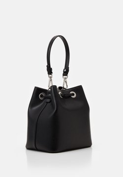 KARL LAGERFELD - IKONIK BUCKET BAG - Torebka - black