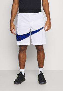 Nike Performance - DRY SHORT PRINT - Pantalón corto de deporte - white/game royal