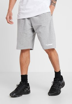 Hummel - HMLGO BERMUDA - Short de sport - grey melange