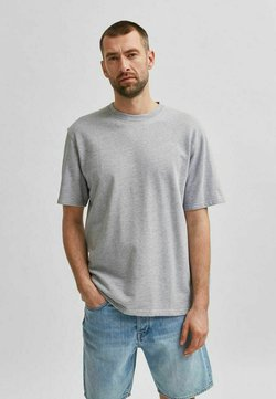 Selected Homme - T-Shirt basic - grey