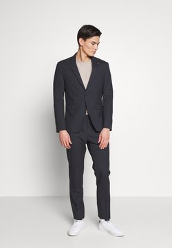 Tommy Hilfiger Tailored - SMALL CHECK SLIM FIT SUIT  - Anzug - grey