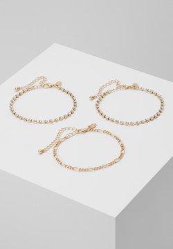 LIARS & LOVERS - CHAIN BRACELET 3 PACK - Bracelet - gold-coloured