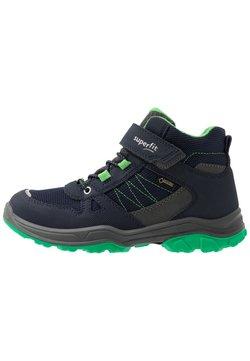 Superfit - JUPITER - Nauhalliset nilkkurit - blau/grün