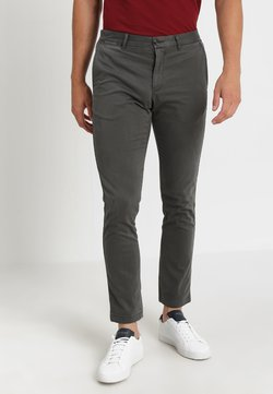 Tommy Hilfiger - CORE STRAIGHT FLEX - Chinot - grey
