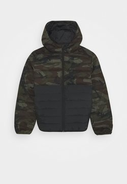 Quiksilver - SCALY MIX YOUTH - Talvitakki - green/black