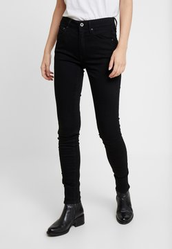 G-Star - 3301 HIGH SKINNY - Jeans Skinny Fit - pitch black