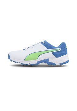 Puma - Spikes - puma white-nrgy blue-green