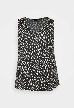 Dorothy Perkins Curve - SMUDGE - Top - schwarz