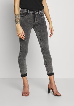 ONLY Petite - ONLRAIN ACID WASH  - Jeans Skinny Fit - dark grey