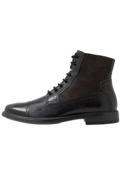 Geox - TERENCE - Lace-up ankle boots - black