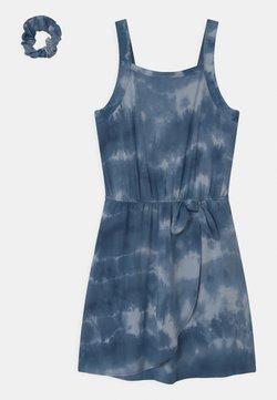 Abercrombie & Fitch - Jerseykleid - blue