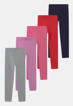 Friboo - 5 PACK - Legging - pink/light pink/red