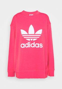 adidas Originals - CREW  - Sweatshirt - power pink/white