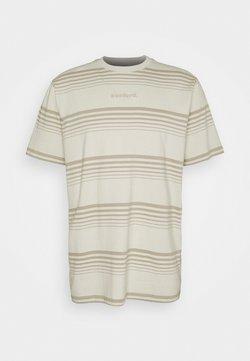 Woodbird - KLIX SCORE TEE - T-Shirt print - sand