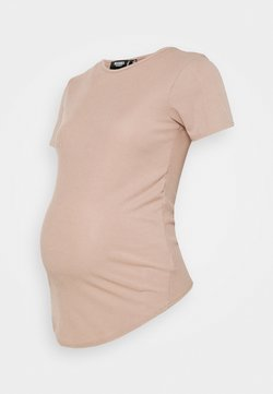 Missguided Maternity - CREW NECK - Camiseta básica - brown