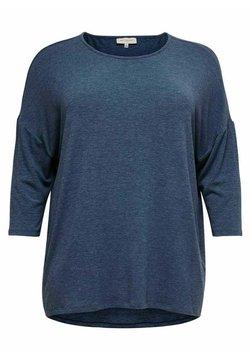 ONLY Carmakoma - CARLAMOUR  - T-Shirt print - vintage indigo