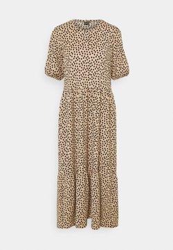 Gina Tricot - AMITA DRESS - Maxi dress - brown