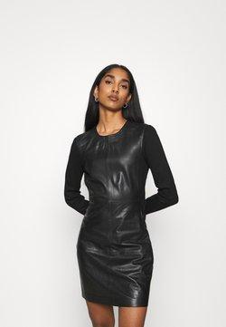 ONLY - ONLLENA DRESS - Korte jurk - black
