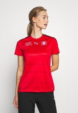Puma - SCHWEIZ SFV HOME SHIRT REPLICA - Voetbalshirt - Land - red/pomegranate