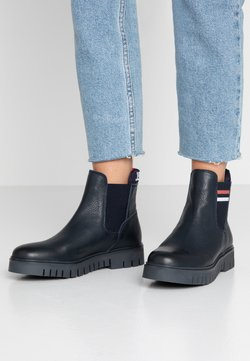 Tommy Jeans - TONGUE TOMMY CHELSEA BOOT - Stiefelette - blue