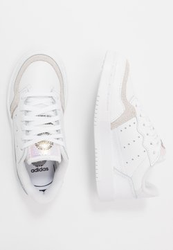 adidas Originals - SUPERCOURT - Sneakers laag - footwear white/core black