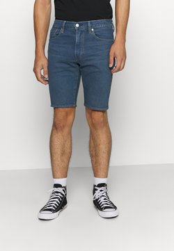 Levi's® - SLIM SHORT - Farkkushortsit - dark-blue denim