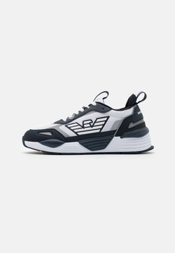 Emporio Armani - Sneaker low - navy/white/silver