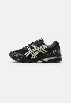ASICS SportStyle - GEL 1090 UNISEX - Sneaker low - black/pure silver