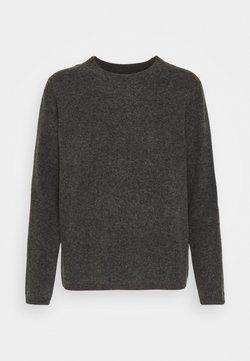 Selected Femme Petite - STACEY - Jersey de punto - dark grey melange