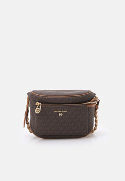MICHAEL Michael Kors - SLATER SLING PACK - Across body bag - brown/acorn