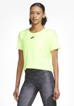 Nike Performance - T-Shirt print - volt/black