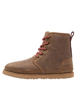 UGG - HARKLEY WATERPROOF - Schnürstiefelette - grizzly