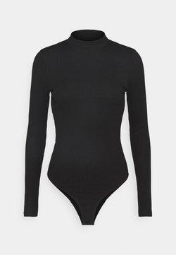 Vero Moda - VMMIA HIGHNECK BODY - Langarmshirt - black