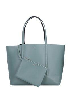 BOSS - WENDEFUNKTION - Shopping bag - light green