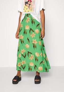 Vero Moda - VMBETTY HW ANKLE SKIRT - Maxi skirt - greenbriar