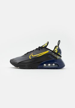 Nike Sportswear - AIR MAX 2090 - Sneakersy niskie - black/tour yellow/binary blue